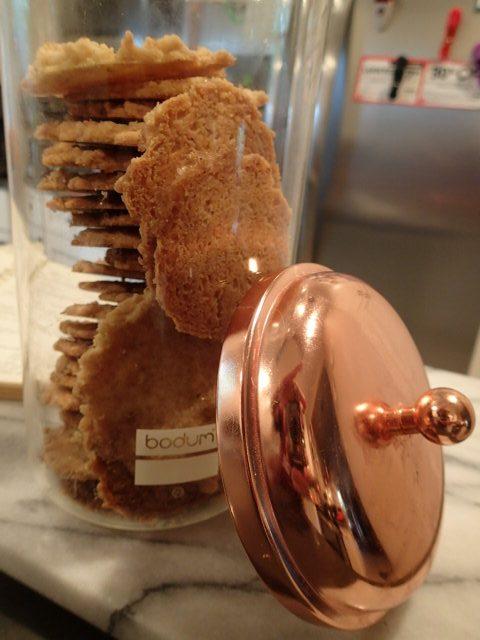 Crunchy Pecan Coconut Cookies cookie jar