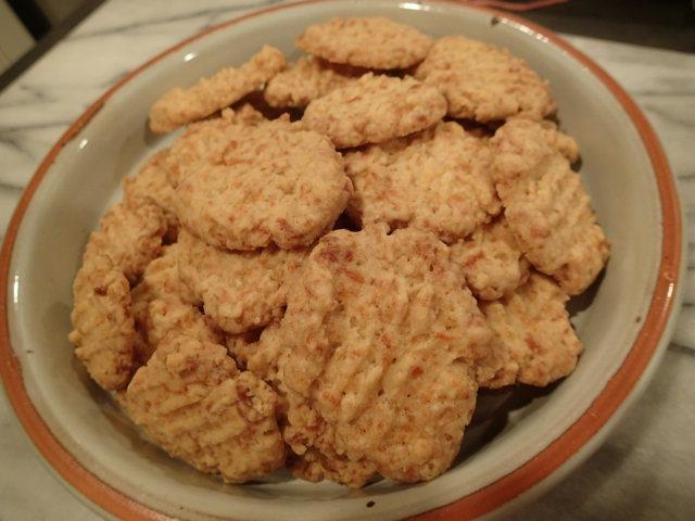 cheddar crisps baked